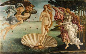 El Naixement de Venus - Sandro Botticelli, 1482-1486