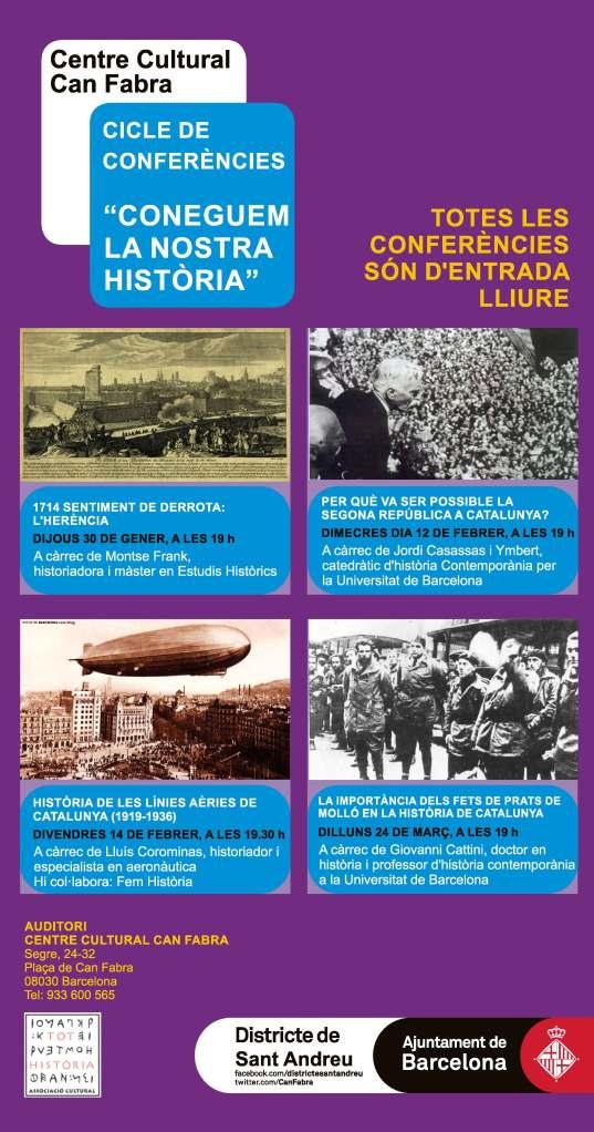 Conferencias historia