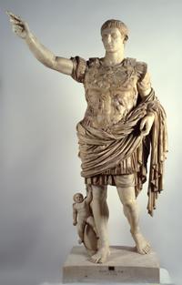 Augusto di Prima Porta. Inv. 2290. Musei Vaticani. http://goo.gl/V87qJ9